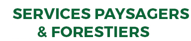 SERVICES PAYSAGERS ET FORESTIERS QF